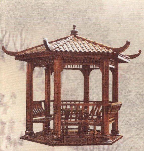 Беседка в древне-китайском стиле