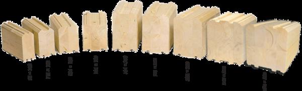 Брус профилированный – удобный строительный материал различных габаритов