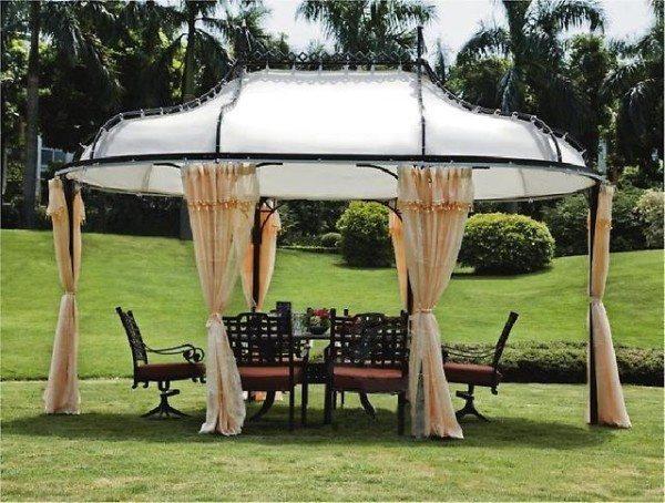 Для сборки такой конструкции уже понадобится инструкция, но её сложность не выше сложности установки обычной туристической палатки
