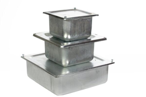 Для уличных систем желательно использовать металлические распределительные коробки.