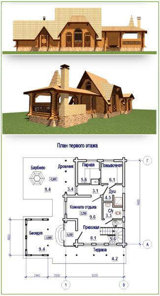 Дом, пригодный для всесезонного проживания