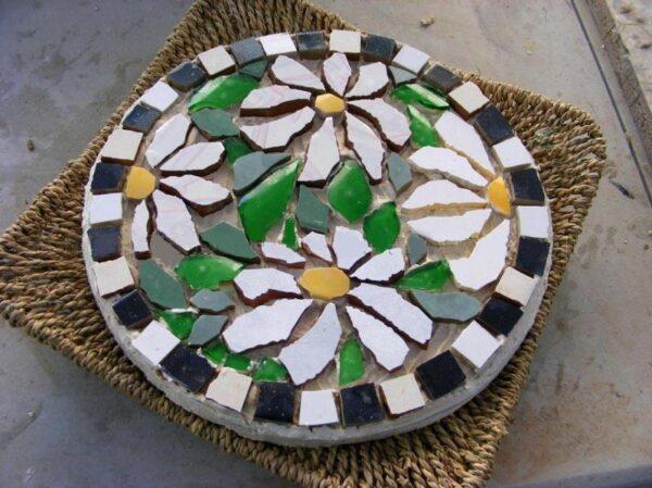 Цветная и красочная мозаика