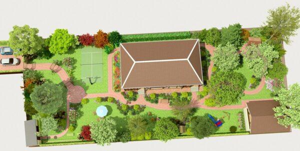 Проект оформления садового участка