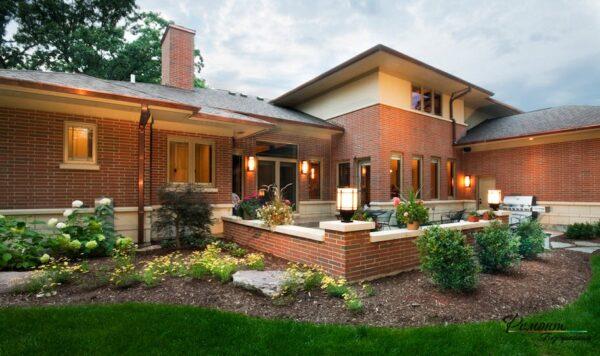 Оформление внешней зоны дома