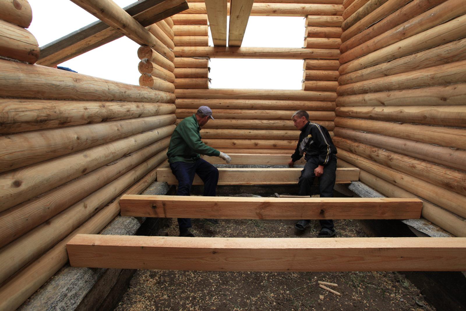 перекрытие в деревянном доме своими руками