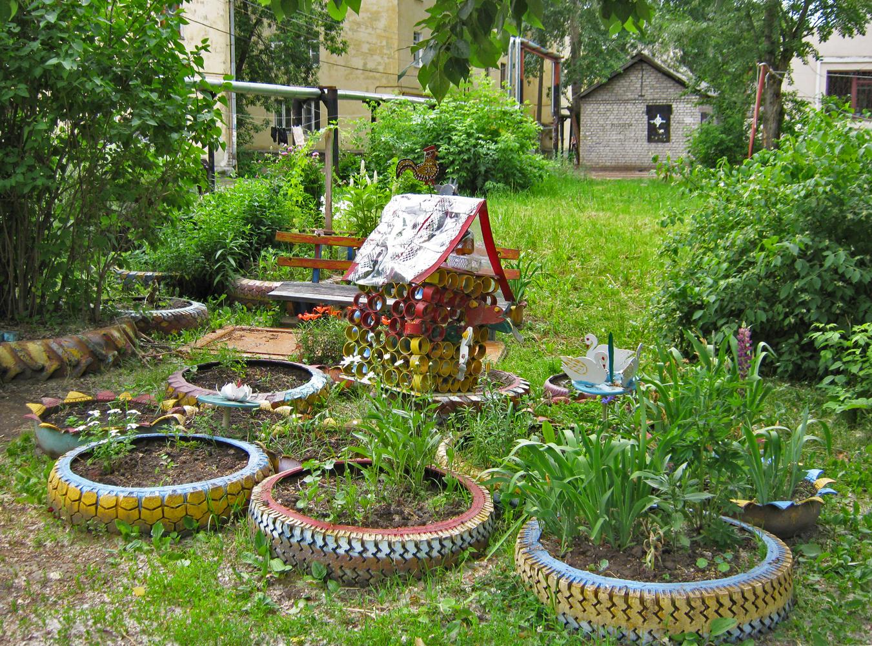 как другие украшаем садовый участок своими руками фото для кладбища