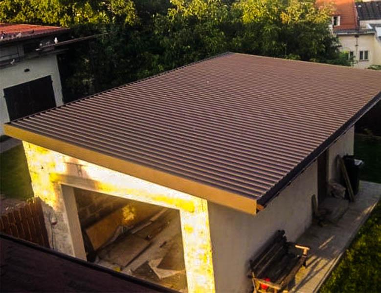 фото вальмовые плоские крыши этой ситуации