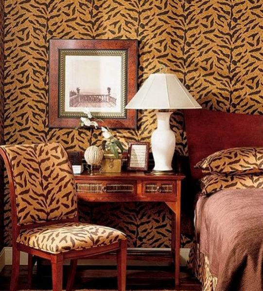 Леопард не уместен в интерьере в большом количестве