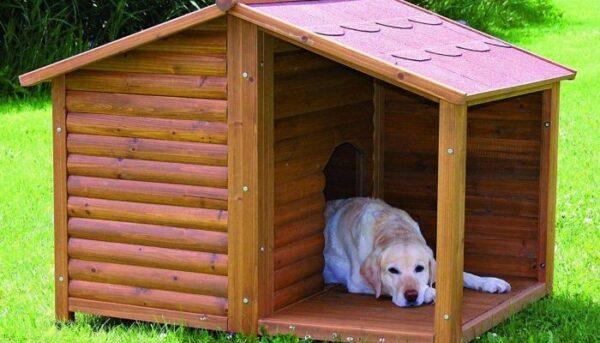 Будка для собаки - классический вариант