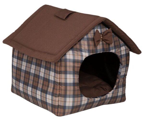 Поролоновый дом-лежак для небольшой собачки