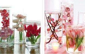 Консервированные цветы в глицерине