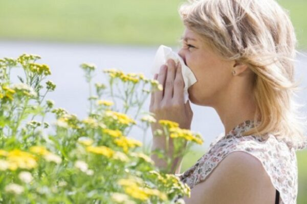 Аллергик в саду