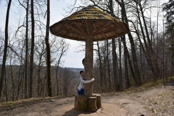 Фото конструкции, стилизованной под «живое дерево»