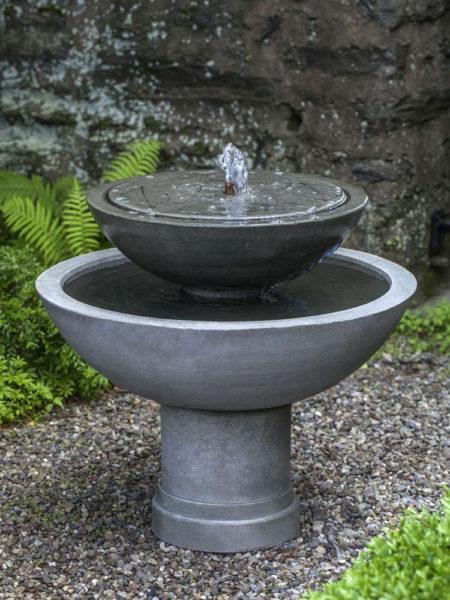 Украшаем дачу с помощью фонтана