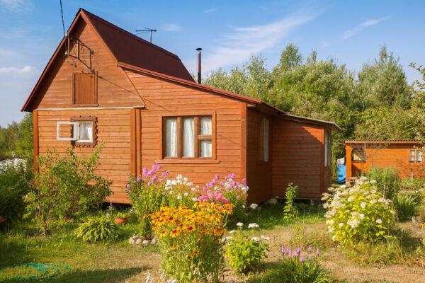 Дачный домик с придомовыми постройками