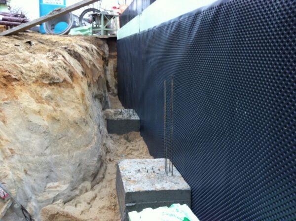 Внешняя гидроизоляция погреба