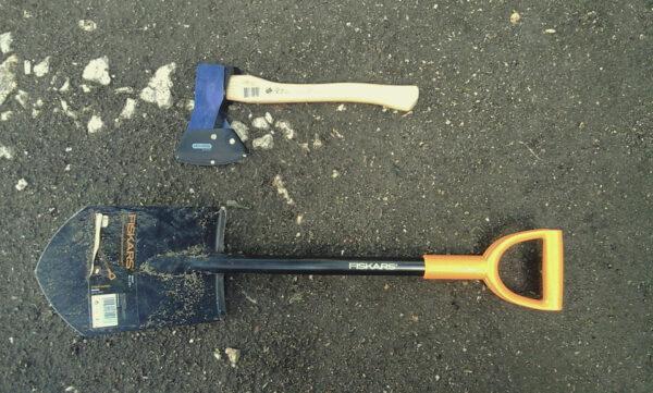 Инструменты для изготовления дровника