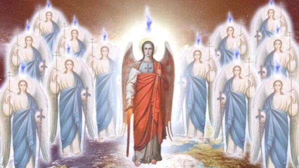 Святой дух спускается на землю