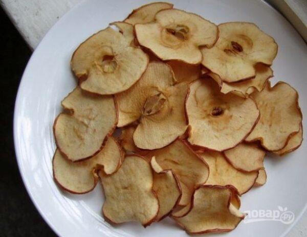 Яблочки нарезать можно любой формы