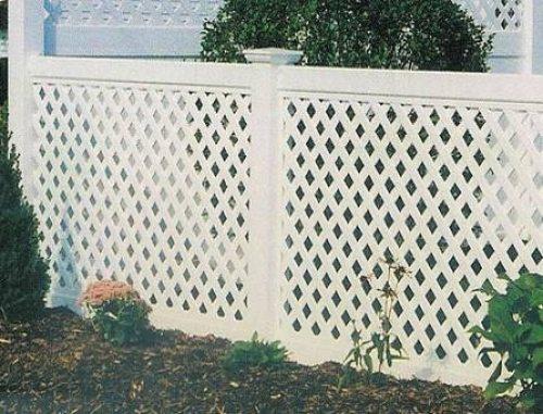 Использование подобных конструкций в качестве ограды