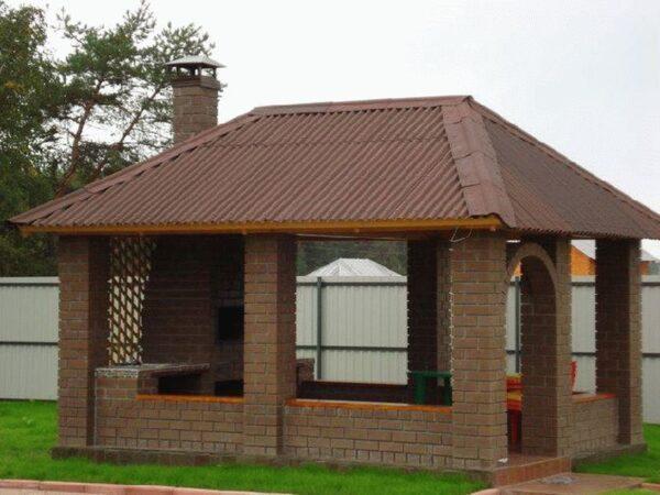 Кирпичное строение отличается надежностью