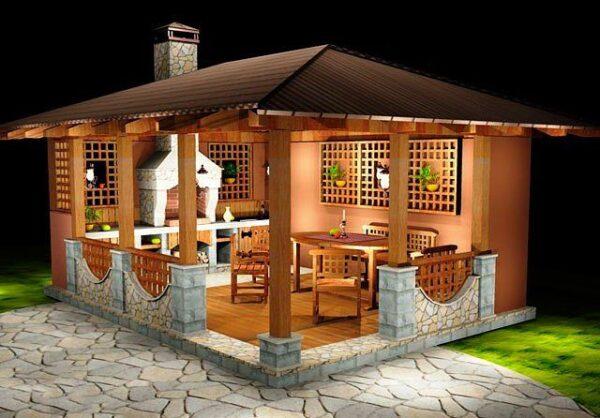 Комбинированная конструкция – просто и элегантно, а главное – надежно!
