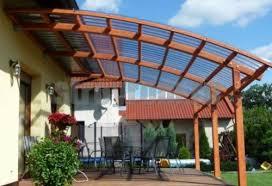 Крыша из поликарбоната: фото