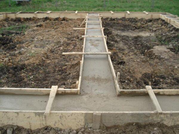 Ленточный фундамент – больше подходит для тяжелых конструкций