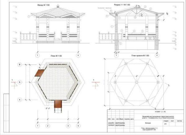 Можно заказать в строительной организации чертеж, на котором будут указаны все размеры – так проще собирать конструкцию