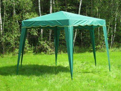 На фото один из самых популярных вариантов беседки палатки
