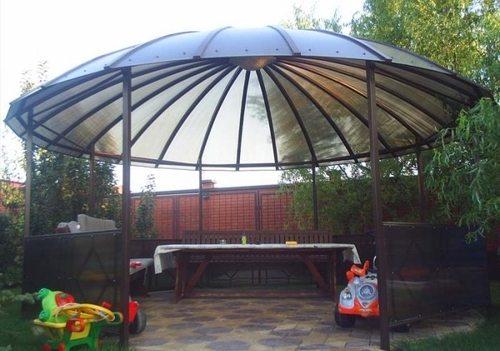 Необычная куполообразная крыша