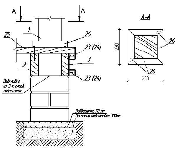 Отдельная инструкция, описывающая методику установки свай и содержащая соответствующий чертеж, должна сопровождать каждый проект