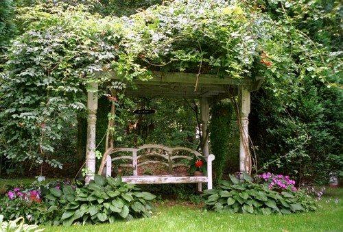 Отдых в тени естественного навеса из листьев, как на фото – лучшее средство от хандры.