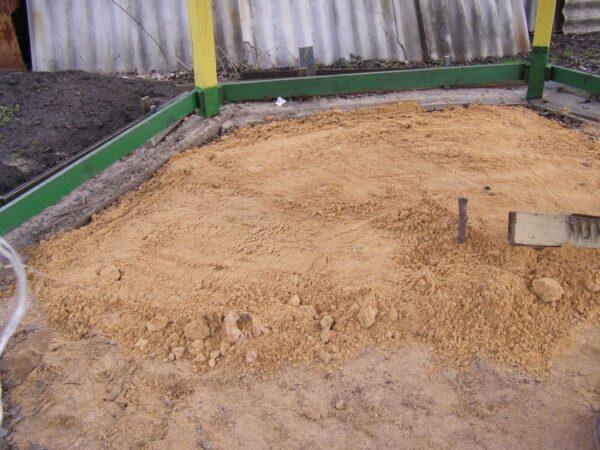 Подготовка к бетонировке пола