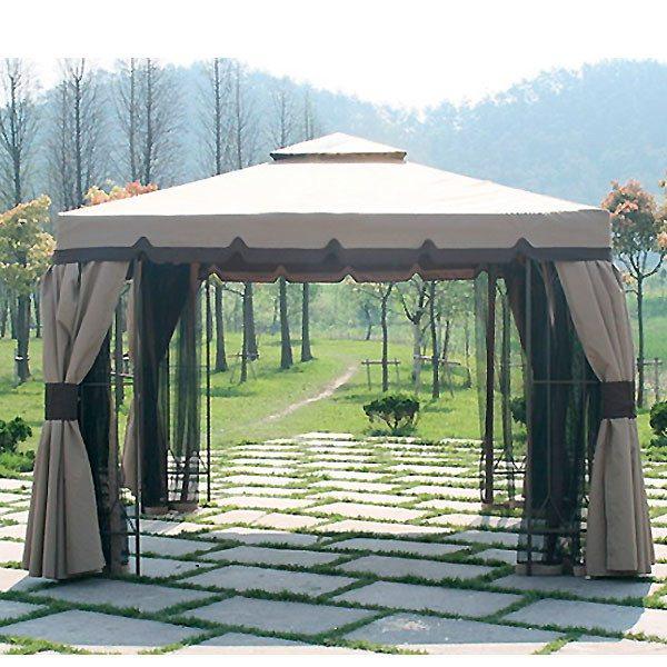Полноразмерный павильон – украшение любой дачи