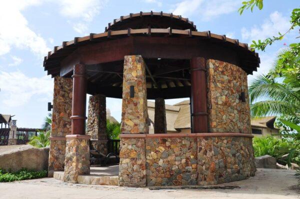 Пример облицовки стен под каменную кладку