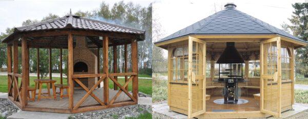 Пример того, что можно построить из дерева – открытая и закрытая модификация