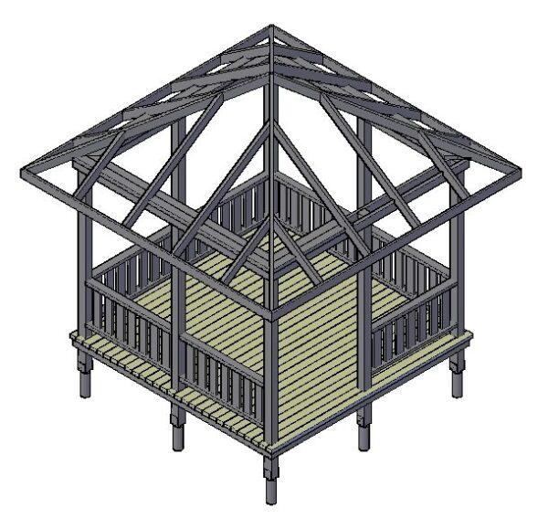 Проект прямоугольной конструкции