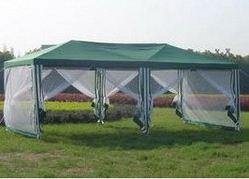 Простой сборной шатер можно купить или же сделать самостоятельно.