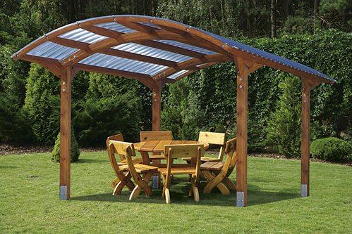 Прозрачная крыша не лишает вас солнца, но при этом бережет от перегрева и солнечных ударов