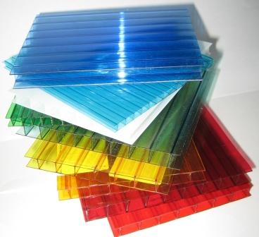 Сотовый поликарбонат отличается разнообразием цветов и различной толщиной