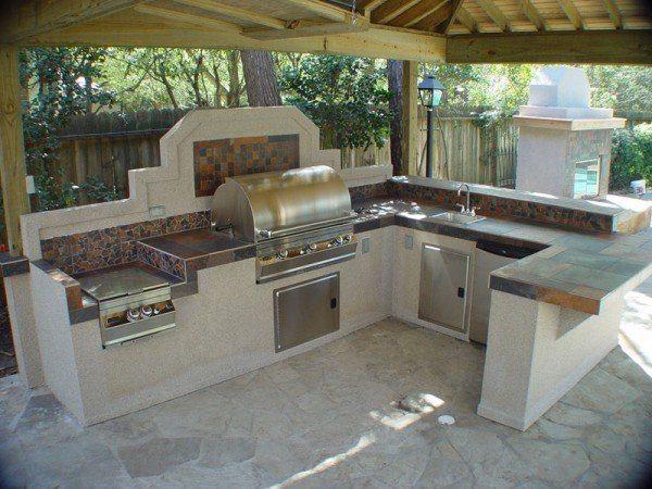 Современный взгляд на летнюю кухню