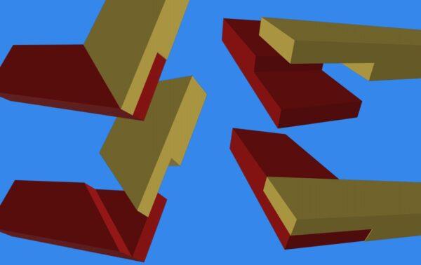 Способы углового крепления нижней обвязки
