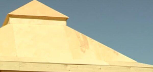 Такая получилась у нас крыша