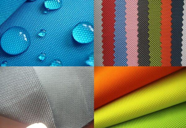Варианты цветового исполнения палаточных непромокаемых тканей