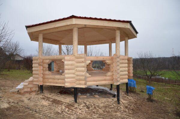 Винтовой фундамент позволяет строиться на самых проблемных грунтах.