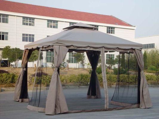 Временные шатры помогут определиться с местом будущего монолитного сооружения