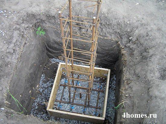 Всё готово к заливке бетоном