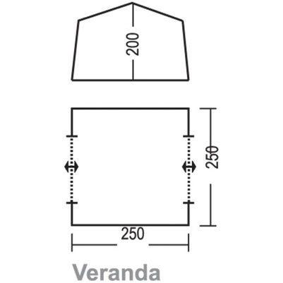 За основу конструкции возьмем чертеж шатра «Веранда».