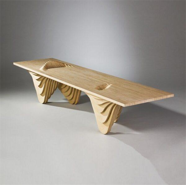 Фанера может служить материалом для самых необычных конструкций.